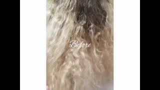 Из блондинки в натуральный цвет волос.  Стилист-колорист Маргарита Сонова(, 2017-01-16T18:36:10.000Z)