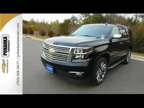 New 2018 Chevrolet Tahoe Chantilly VA Washington-DC, MD #TJR260179 - SOLD