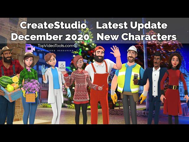 31 CreateStudio New Templates Download - December 2020 Update