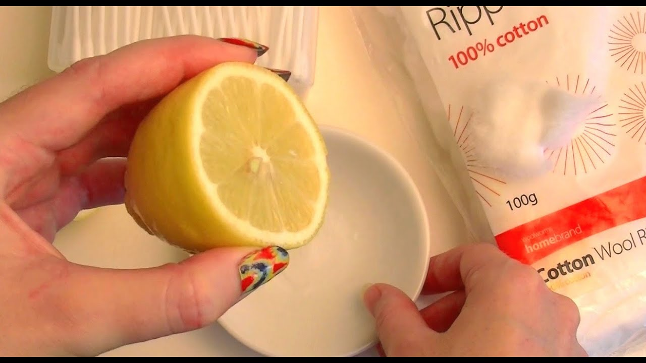 NATURALLY FADE ACNE SCARS with LEMON! How To Use Lemon For Scarring ...