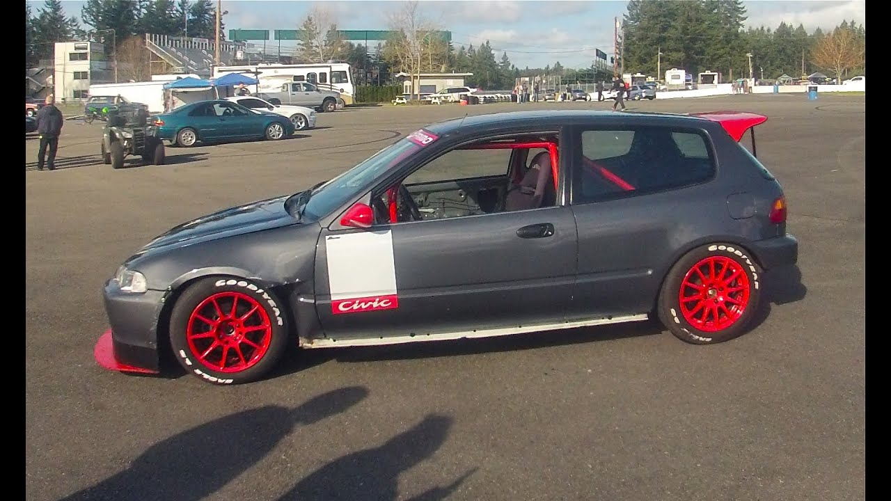 Ulysses 39 s honda civic eg hatch track session honda fest for Honda eg hatchback