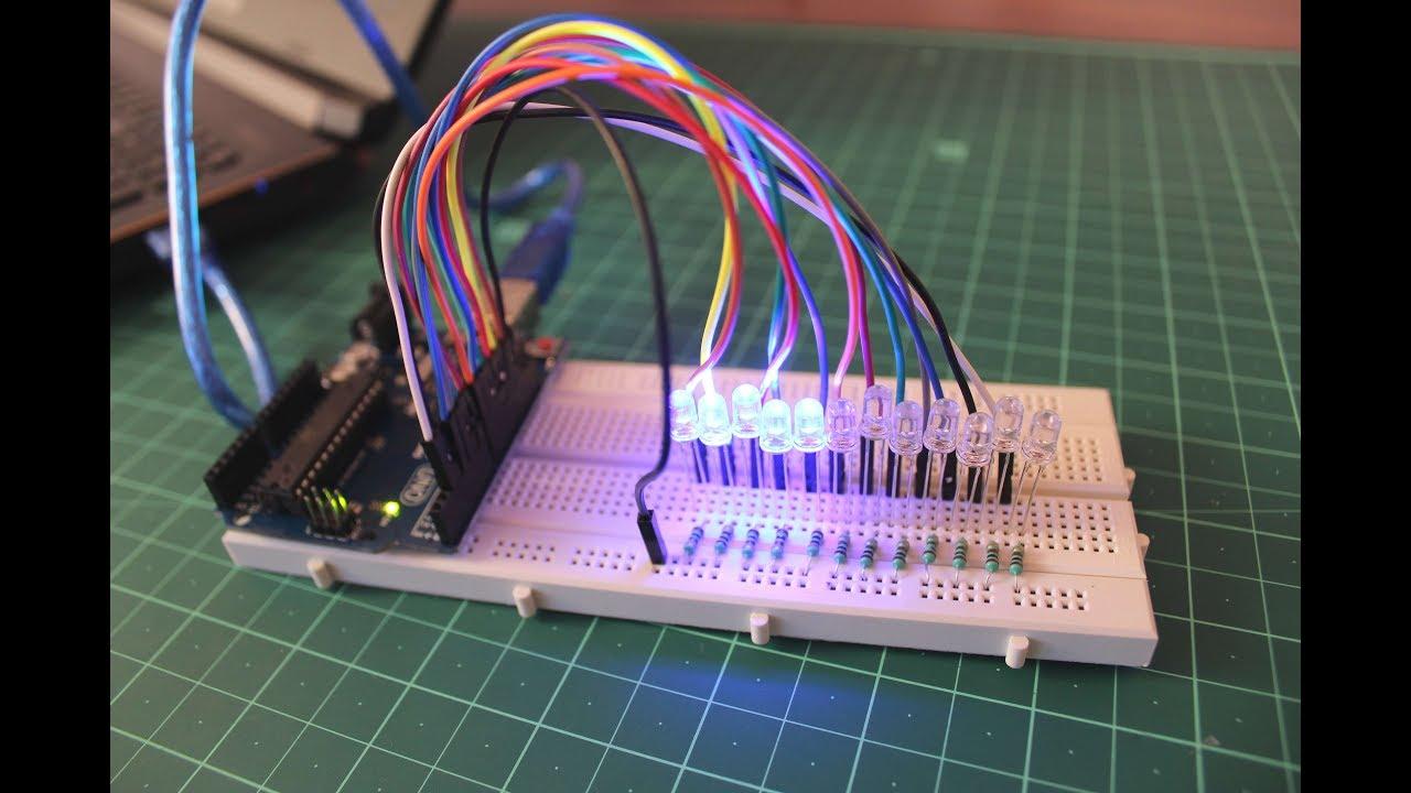 Arduino Tutorial  Led Sequential Control