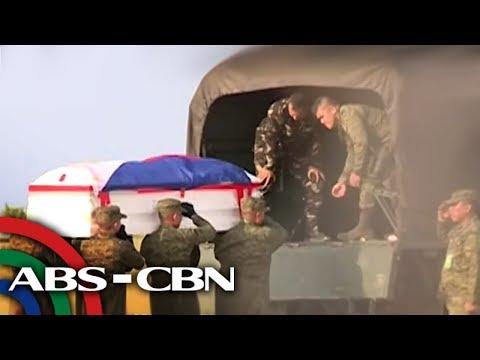 Labi ng PMA cadet na namatay dahil sa hazing, naiuwi na sa CDO | TV Patrol