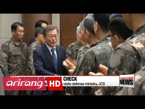 Moon calls N. Korean missile launch serious threat to peace
