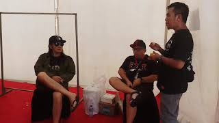 Kapten Kris & Jamrud soundcheck di acara Hut Trans Media ke 17.