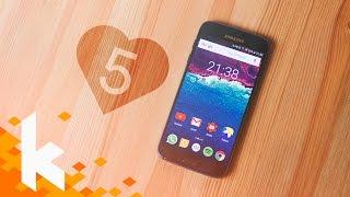 Top 5 Dinge, die wir am Samsung Galaxy S7 LIEBEN!