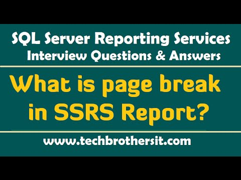 Ssrs interview questions and answers