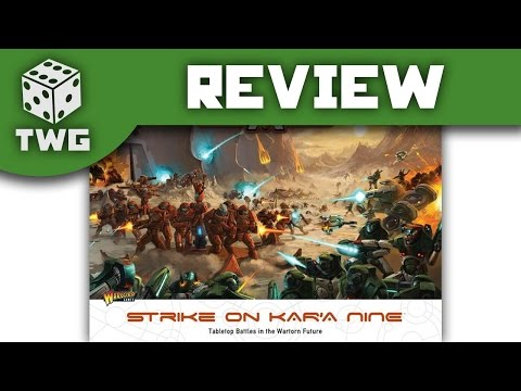 Gates Of Antares: Strike On Kar'A Nine Starter Set Unboxing