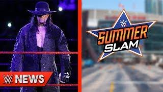 Undertaker's WM 35 Opponent REVEALED! Major Stars Missing From SummerSlam Ads?! - WWE News Ep. 229