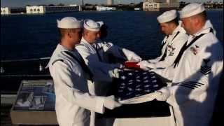Burial at Sea USS New Jersey BB-62 9-9-2012  MVI_1449.MOV