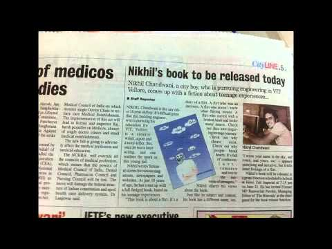 Nikhil Chandwani, the rising author from Nagpur interviewed on radio Part 1