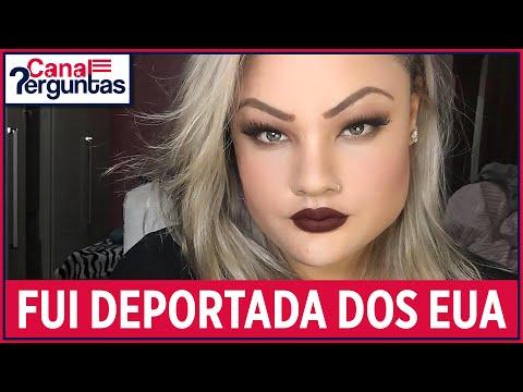 Brasileira deportada depois