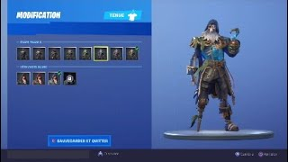 FORTNITE: VOICI THE SKIN C-UR NOIR WITH 320,000 XP AND THE WHITE STYLE!