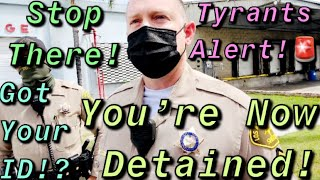 Illegally Detained & Rights Violated By Pico Rivera Tyrants Over False Police Report #PRT2 #OWNED