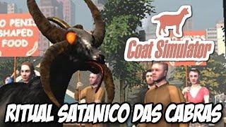 Goat Simulator - Ritual satânico A Rainha das Cabras do Demônio