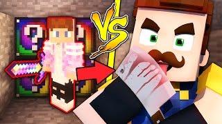 ЛАКИБИТВА В МАЙНКРАФТ! БИТВА С ТЕМ САМЫМ СОСЕДОМ! Мультик Майнкрафт Minecraft