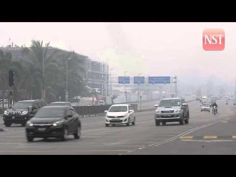 Haze: Kuching, Samarahan with very unhealthy API readings