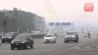 Haze: Kuching, Samarahan with very unhealthy API readings