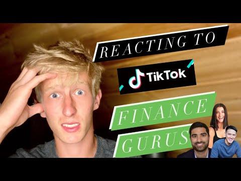 Reacting to TikTok Financial Gurus Advice