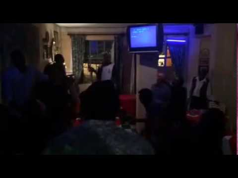Karaoke Fun at the Pointe Resturant in  Harare