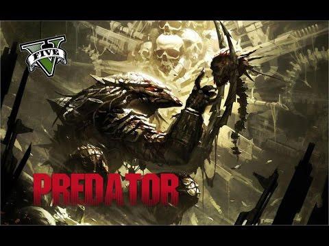 PREDATOR - GTA 5 Online Remake - [ROCKSTAR EDITOR] PS4