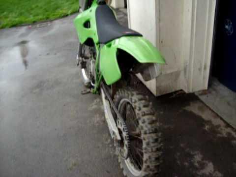 1997 Kawasaki Kx 125 Running Youtube