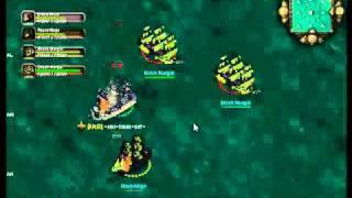 Seafight Mapa Bono rojo Oleada 30...