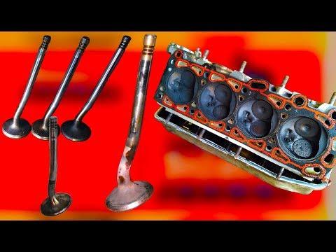 Почему гнет клапана двигателя, на каких двигателях гнет клапана