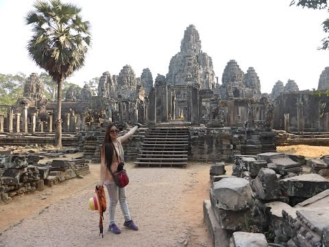 World Largest Monument -Angkor Wat Temple in Cambodia