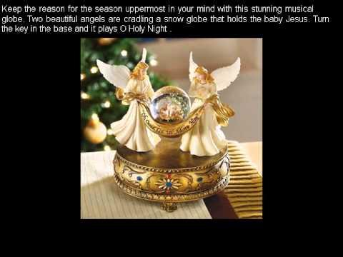 Musical Angels Christmas Holiday Snow Globe