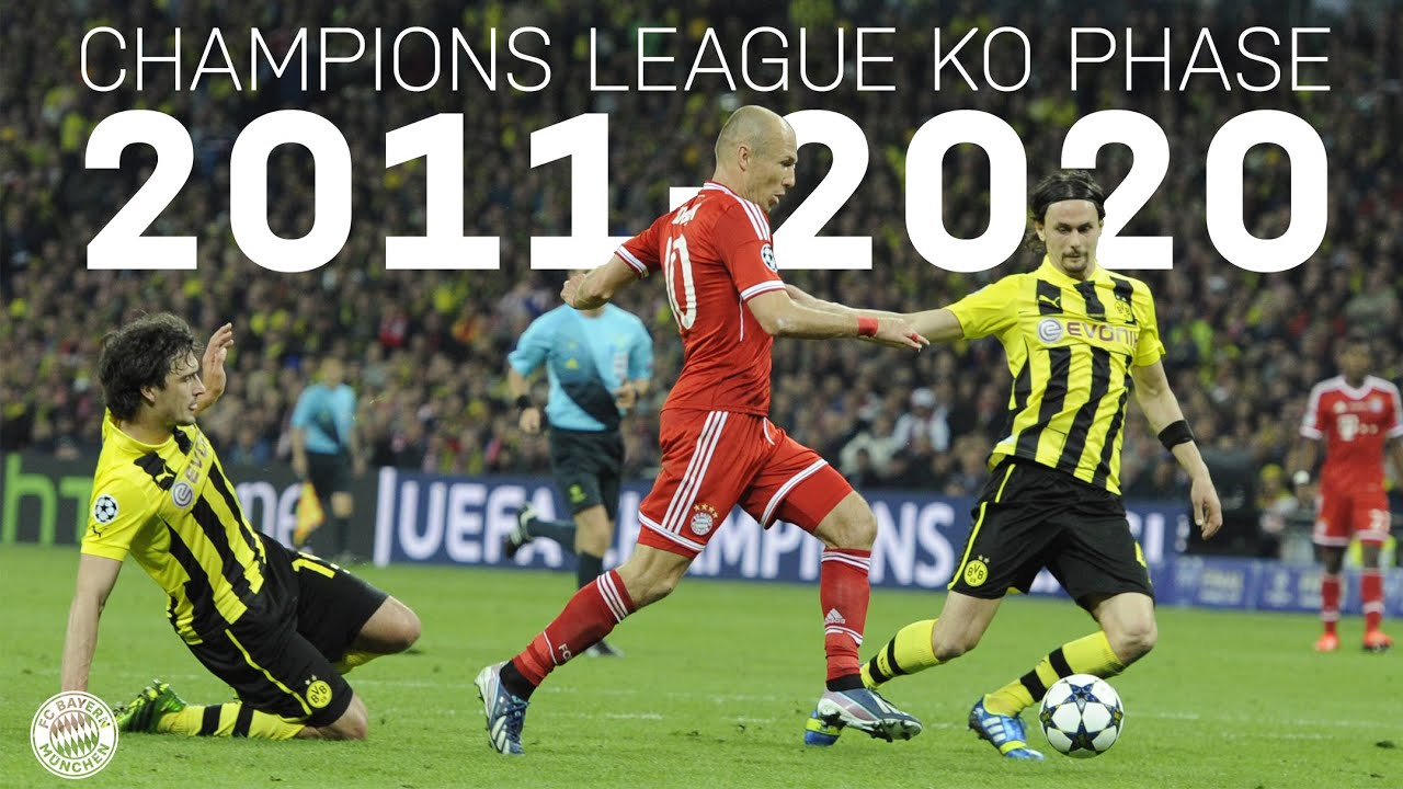 Download ALL GOALS & GAMES from the Champions League Knockout Phase 2011-2020