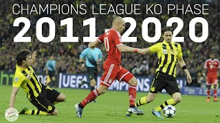ALL GOALS & GAMES from the Champions League Knockout Phase 2011-2020