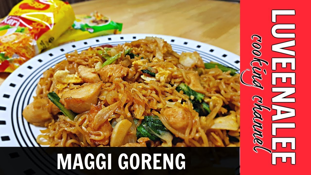 Maggi Goreng Mamak Maggi Goreng Maggi Goreng Recipe How To Cook Fried Instant Noodles