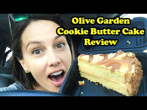 Olive Garden Cookie Butter Cake Review