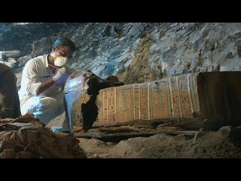 Ancient tomb discovery in Egypt adds to treasure trove in Luxor