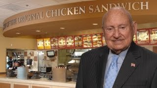 Chick-fil-A founder created the fast food chicken sandwich