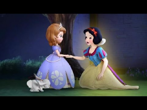 Sofia The First - The Enchanted Feast - Snow White Scene Swedish