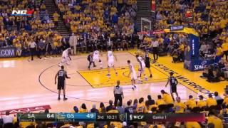 Warriors vs Spurs FULL Highlights   Game 1   WCF 5-14-17