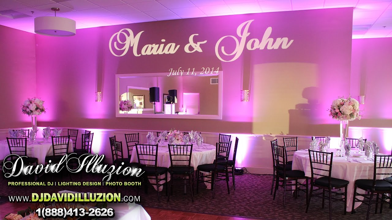 Maria John S Wedding Dj David Illuzion Los Amigos Golf Course