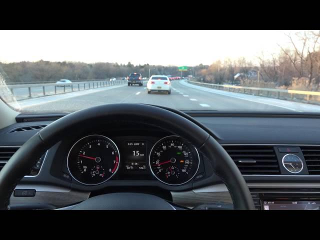 VW Lane Assist & Adaptive Cruise Control Demonstration | Ide Volkswagen