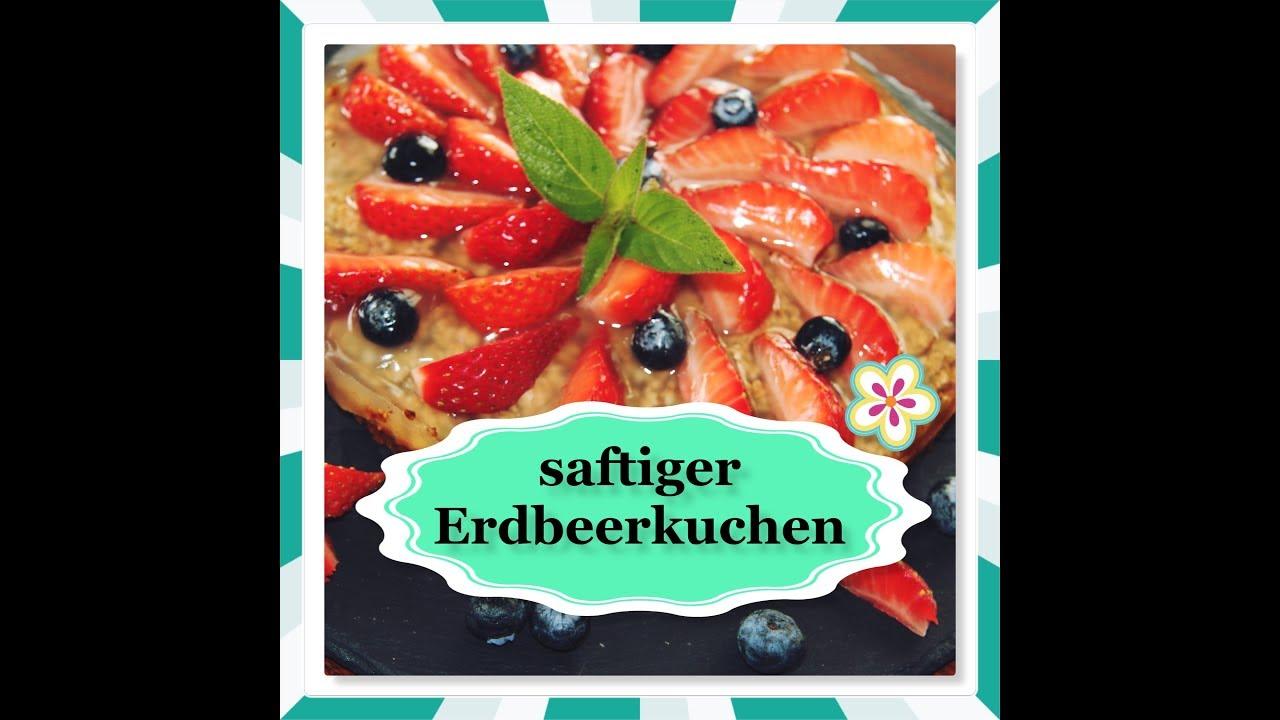 Erdbeer Haferflocken Kuchen Ohne Mehl Zucker Schnell
