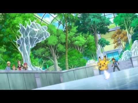 Ash VS Gym Leader Viola   Pikachu & Fletchling VS Surskit & Vivillon   Part 2