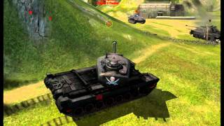W.o.T. T30 heavy tank movie / SetCZ HD 1080p
