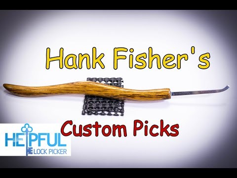 [170] Hank Fisher's Custom Lock Picks Reviewed!