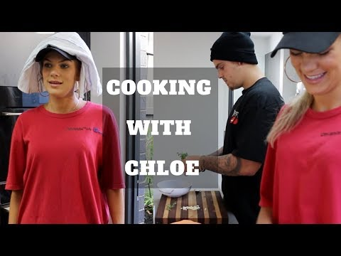 COOKING WITH CHLOE ft My Boyfriend Mitchell