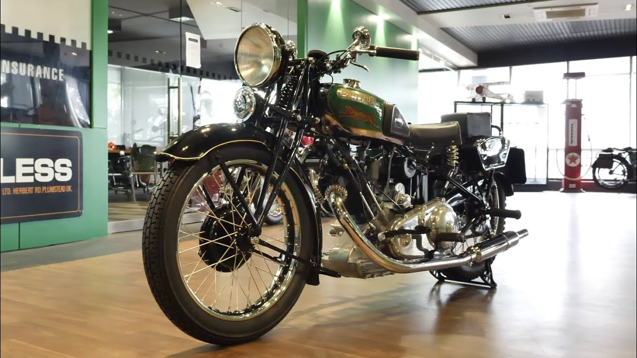 1935 Panther Model 100 'Redwing' 600cc Motorcycle - 2020 Shannons Winter Timed Online Auction