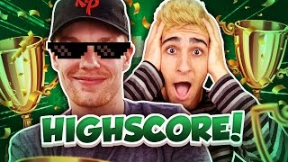 NIEUWE HIGHSCORE PARKOUR! - Minecraft Survival #174