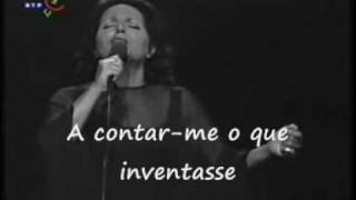 Gaivota - Amália Rodrigues (with subtitles)