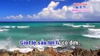 TÔI LÀ AI - Ngọc Châu (Karaoke dây kép)