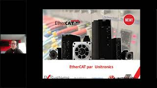 Webinaire N°25 :  Communication EtherCAT par Unitronics